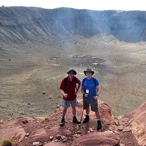 2015-10-17 to 10-18  Meteor Crater Trip with B612