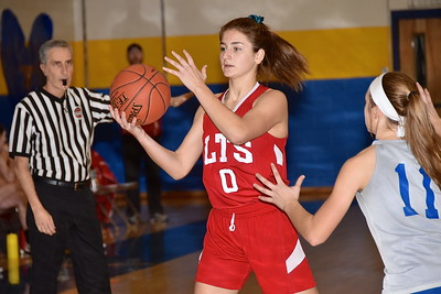 LTS JV Girls Basketball vs Poultney photos by Gary Baker