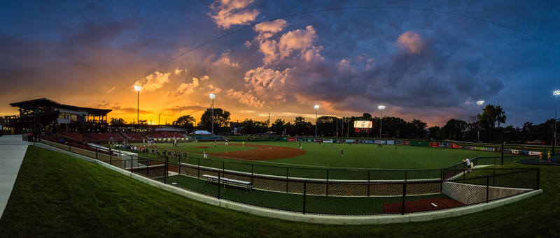 Kokomo Municipal Stadium Sunset
