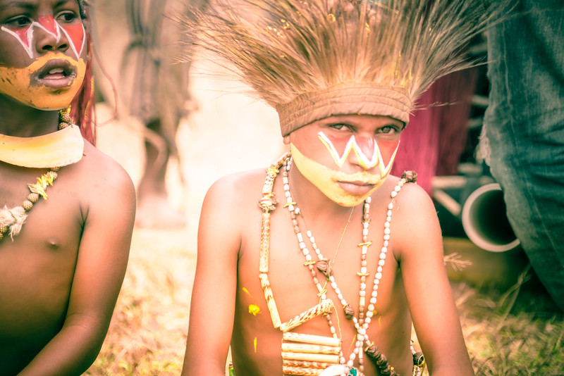 Pre-teen Angst In Papua New Guinea