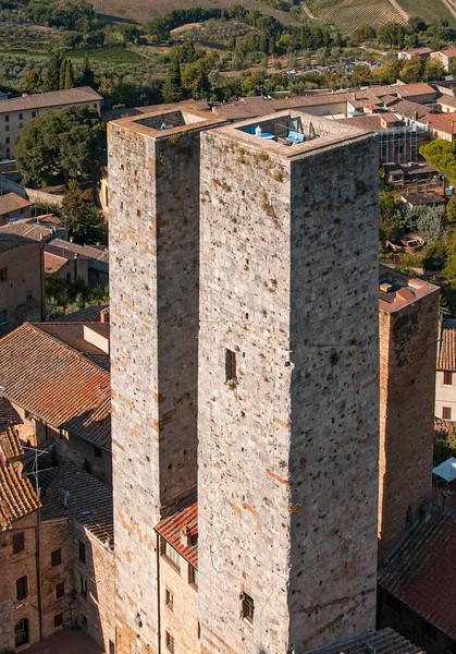 Torri dei Salvucci, San Gimignano, Italy