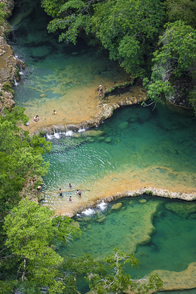 Semuc Champey Lanquin in Guatemala Central America