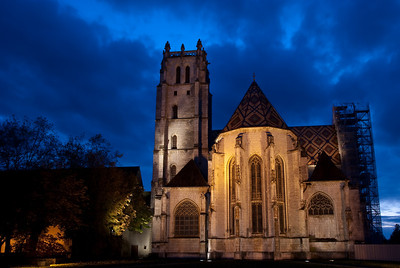 Bourg-en-Bresse by Night