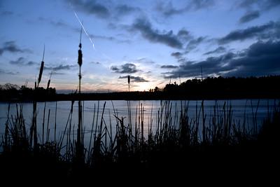 Heart Pond Sun sets - January 24, 2020