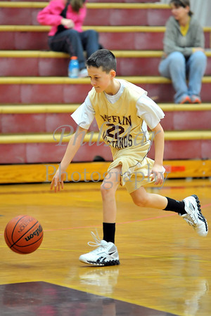 Governor Mifflin VS Tulpehocken 5th Grade Basketball 2011 - 2012