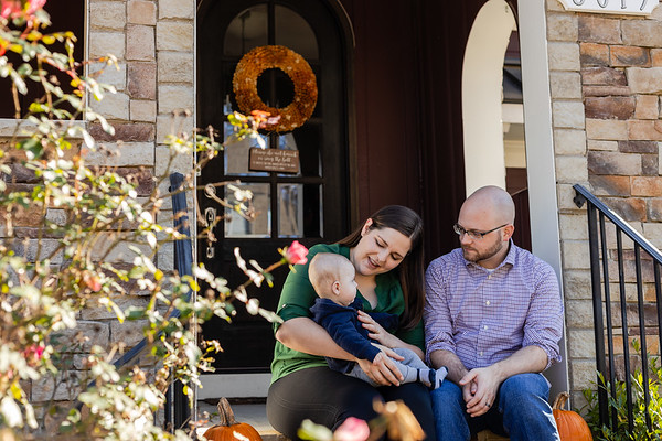 The Paceks | At-Home Lifestyle Family Photography in Durham