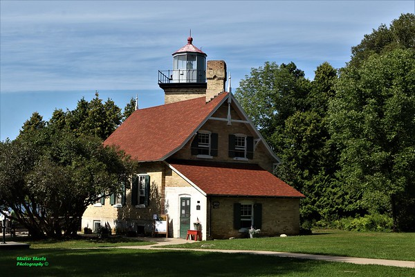 Light House at Peninsula State Park 8-17-2019