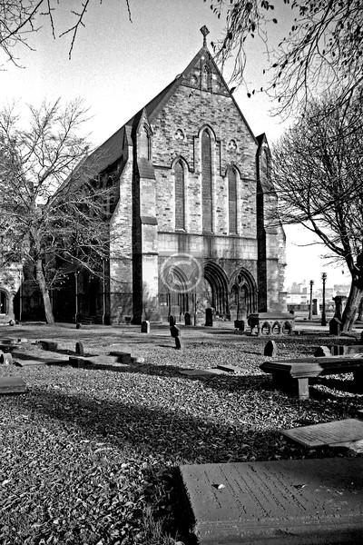 Govan Parish Church.     April 1975