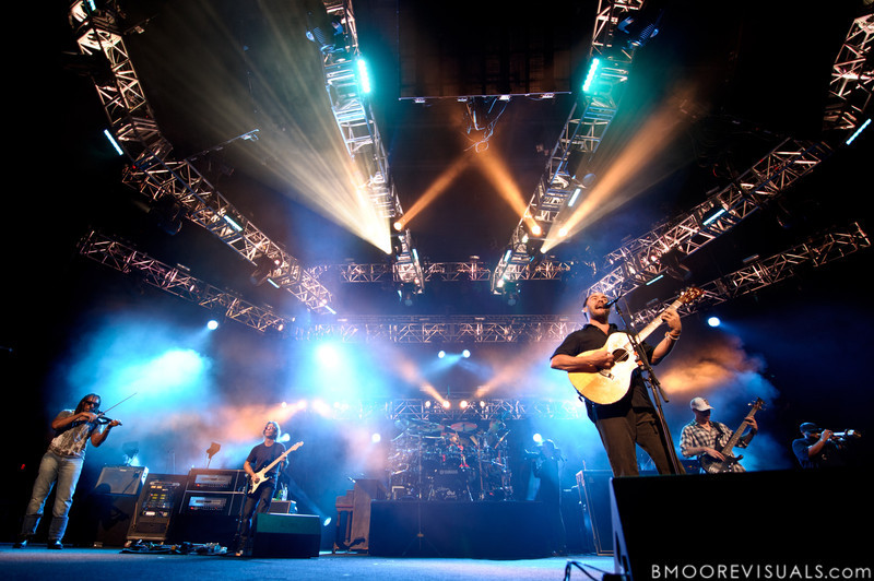 Dave Matthews Band perform on July 28, 2010 at 1-800-ASK-GARY Amphitheater in Tampa, Florida