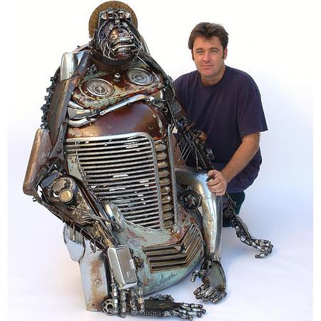 junk auto parts  art