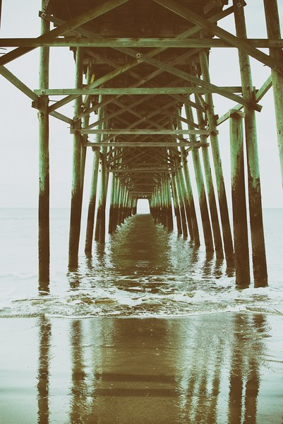UNDER THE BOARDWALK, NORTH CAROLINA 2016