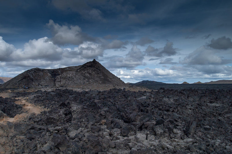 lava and cinder cone