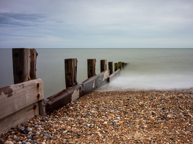 Hastings beach groyne