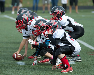 JV Mites Warriors at Plymouth South 2016