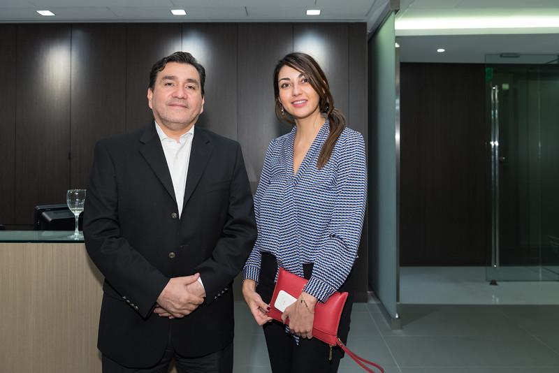 Luis Gormaz, Andrea Santana