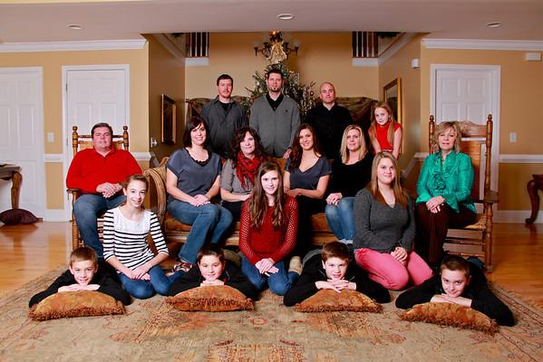 2012 Fegeley Family Christmas Portraits