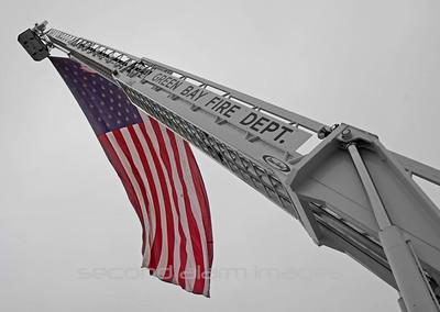 Patriot Flag Display- Green Bay, WI