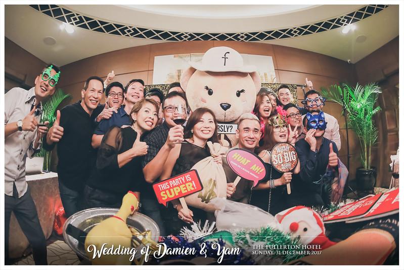 Wedding of Damien & Yam   © www.SRSLYPhotobooth.sg