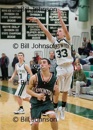 B JV Basketball Hopkinton v Westwood 1_14_14