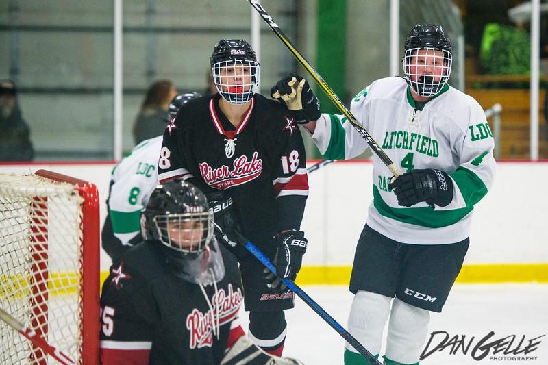 LDC Boys Hockey vs  River Lakes Stars