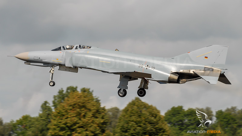 German Air Force / McDonnell Douglas F-4F Phantom / 38+10