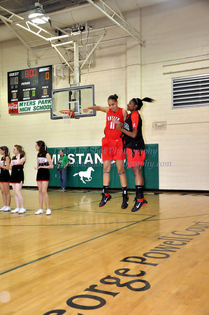 2010-12-10 BHS Women's Basketball @ Myers Park