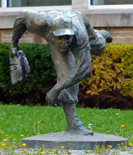 """""""The Pitcher"""" by Stanley Bliefeld at the National Baseball Hall of Fame & Museum"""