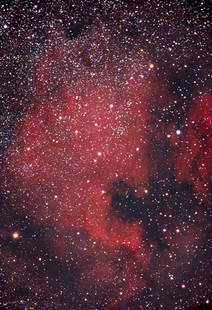 NGC 7000, North America Nebula