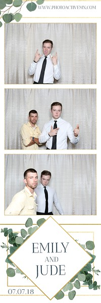2018-07-07: MN Science Museum Wedding Photo Booth in St. Paul MN