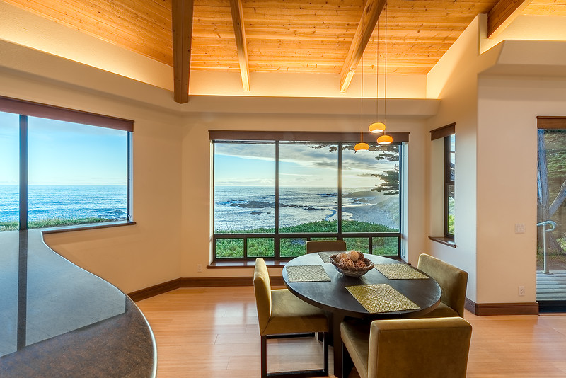 Dining Room with Beach View