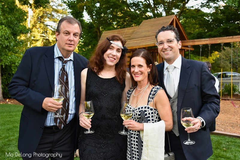 Howard Shomer, Kimberly Rochat and Allison and Ron Abta