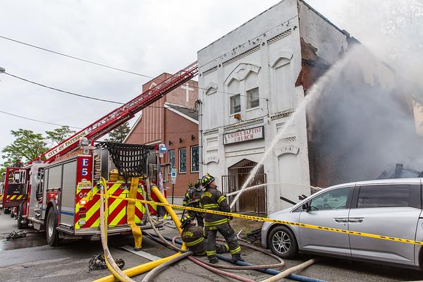 Paterson NJ 4th alarm, 174 12th Ave. 05-28-21