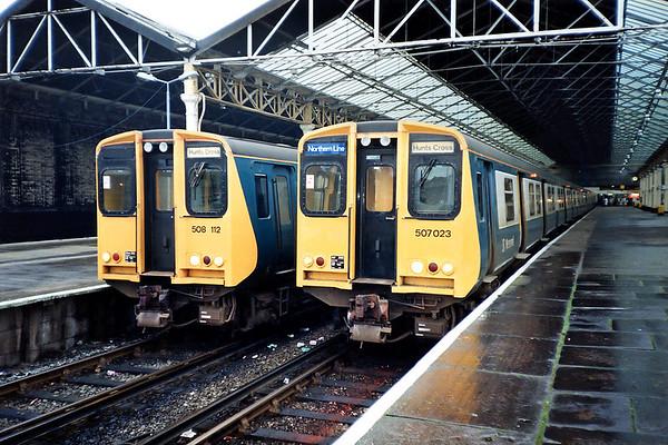 18th January 1992: Merseyside