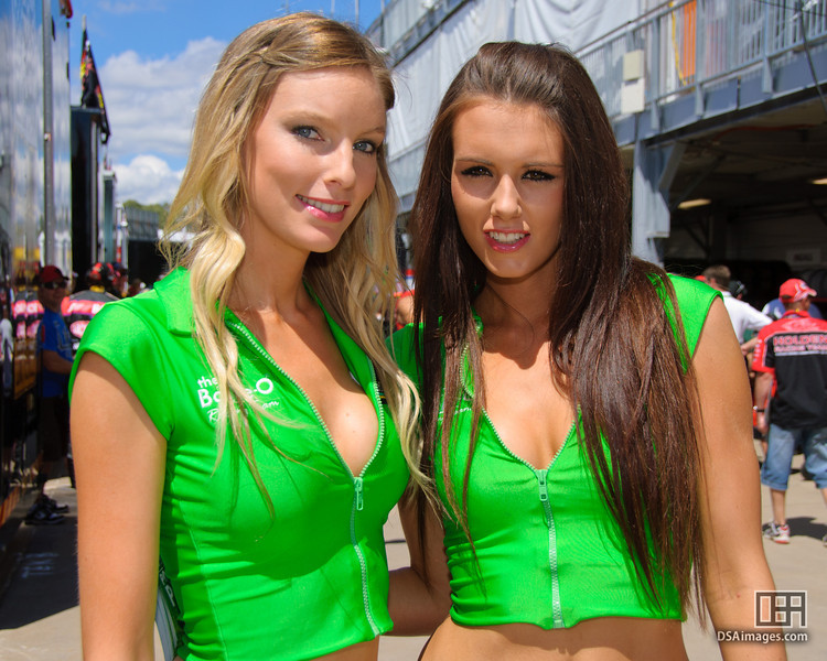 The Bottle-O Racing Team girls