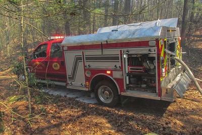 4-20-16 Mutual-Aid Brush Fire, Garrison
