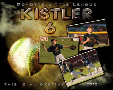 Gabe's Last Baseball Game 2015