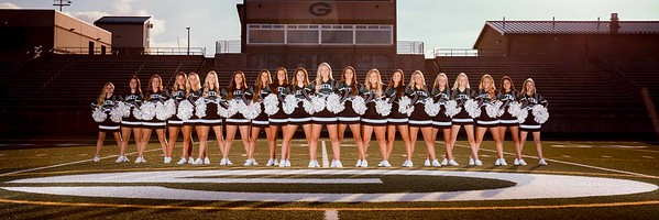 Gretna Cheerleading Team