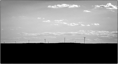 """""""Wide Open Space"""" (photography) by John Diephouse"""