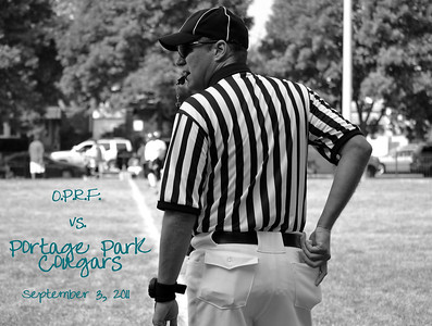 Portage Park Bantam Football Week 2