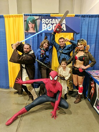 Comic Con Webshooters