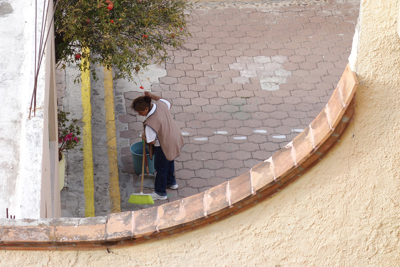 San Miguel was virtually immaculate; we constantly saw people sweeping and cleaning