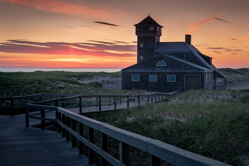 The Old Life-Saving Station (at Race Point Beach) sunrise
