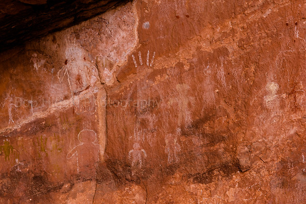 South Fork Indian Canyon Pictographs