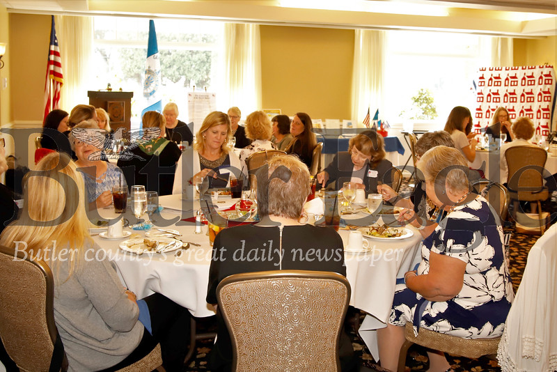 Members of the General Richard Butler chapter of the Daughters of the Revolution kicked off constitution week Saturday with a luncheon at Butler Country Club. Seb Foltz/Butler Eagle