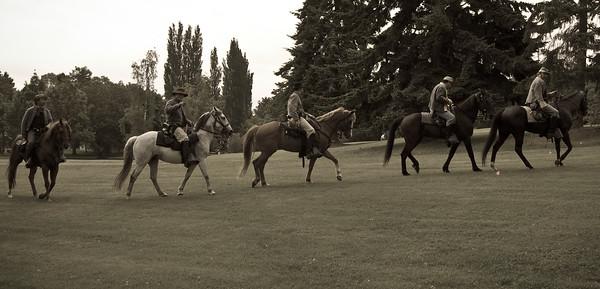 equestrian parade