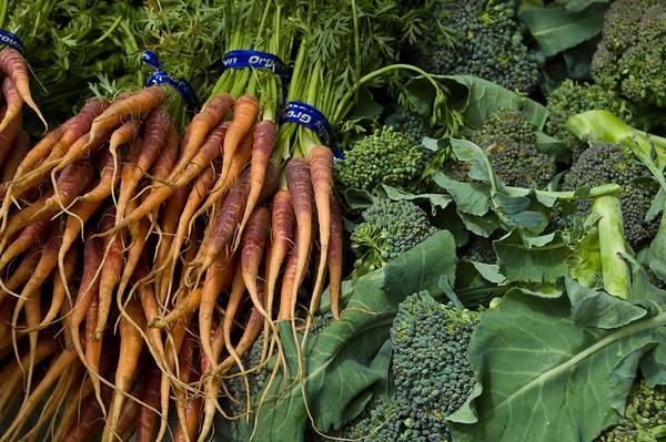 carrots & broccoli