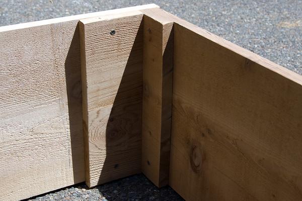 mis-assembled corner