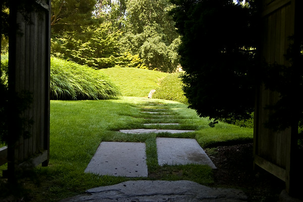 japanese garden entrance