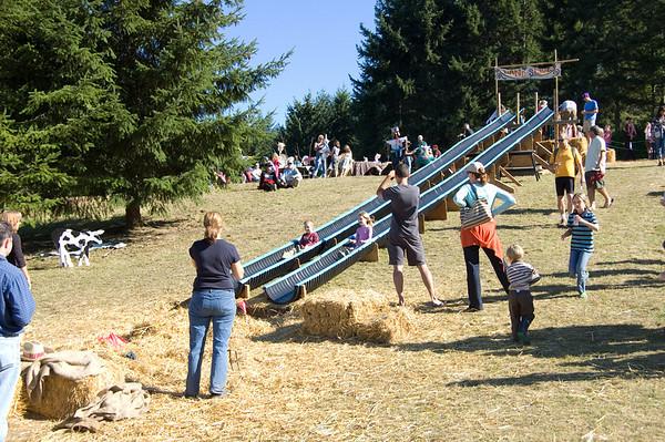 slide in action