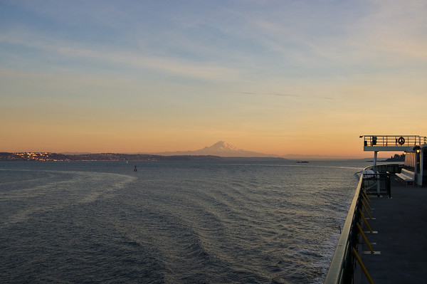 rainier with the boat